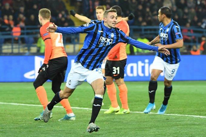 Atalanta xứng đáng làm ngựa ô của Champions League