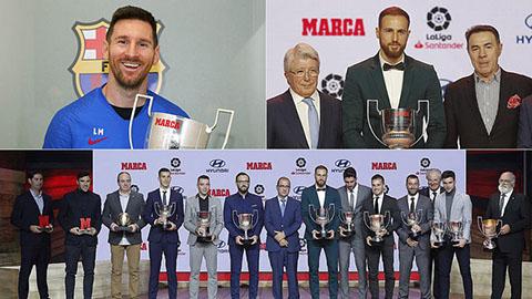 """Messi sở hữu """"số 6"""" thứ hai trong vòng 15 ngày, sau Quả bóng Vàng 2019"""