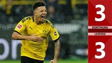 Borussia Dortmund 3-3 RasenBallsport Leipzig(Vòng 16 Bundesliga 2019/20)