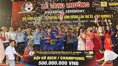 Thắng dễ U20 Việt Nam, B.Bình Dương vô địch BTV Cup 2019