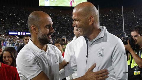 Pep: 'Tôi ngưỡng mộ Zidane và muốn thi đấu cùng ông ấy'