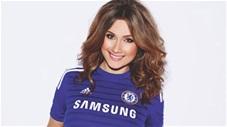Fan nữ Chelsea khiến đấng mày râu ngất ngây