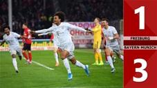 Freiburg 1-3 Bayern Munich(Vòng 16 Bundesliga 2019/20)