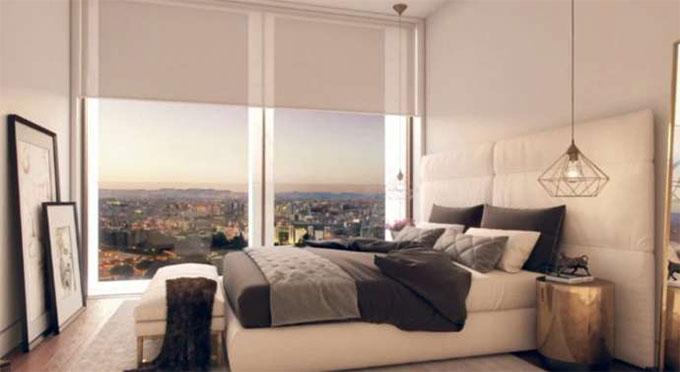 Phòng ngủ đầy tính nghệ thuật của Ronaldo