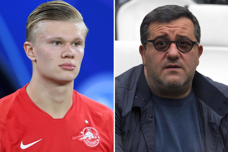 Haaland là người mà HLV Solskjaer muốn đưa về Old Trafford