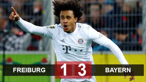 Freiburg 1-3 Bayern: Sao 18 tuổi ghi bàn phút bù giờ, Bayern thắng hú vía