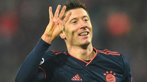 Lewandowski săn kỷ lục chỉ Messi, Ronaldo và Kane đạt được