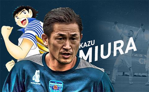 King Miura cùng với Tsubasa là hai biểu tượng vĩnh cửu trong lòng NHM xứ mặt trời mọc