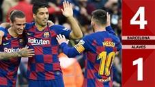 Barcelona 4-1 Alaves(Vòng 18 LaLiga 2019/20)