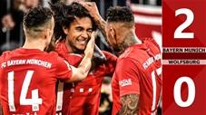 Bayern Munich 2-0 Wolfsburg(Vòng 17 Bundetliga 2019/20)