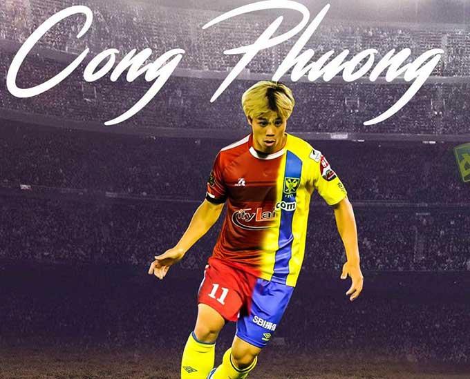 Công Phượng gia nhập TP.HCM - Ảnh: Vietnam Football