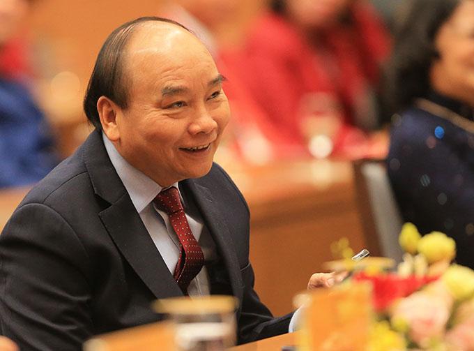 Thủ tướng Nguyễn Xuân Phúc gặp mặt các VĐV, HLV tiêu biểu tham dự SEA Games 30