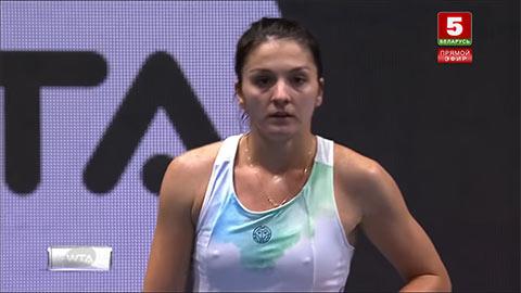 Người đẹp Gasparyan lộ điểm nhạy cảm ở St. Petersburg Open khiến fan phát sốt