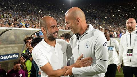Zidane gọi Guardiola là HLV giỏi nhất thế giới