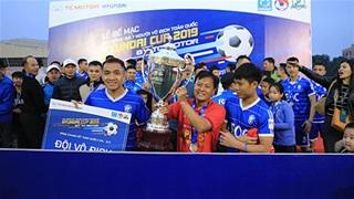 Thành Lương giúp EOC đăng quang giải bóng đá 7 người toàn quốc
