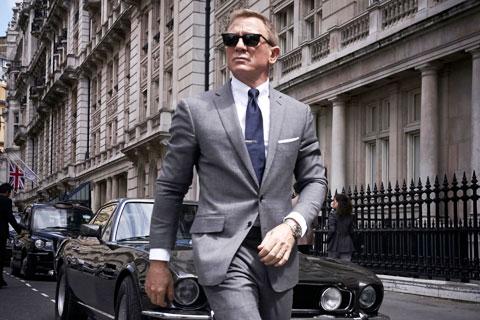 Raiola đặc biệt thần tượng nhân vật James Bond do Daniel Craig thủ vai