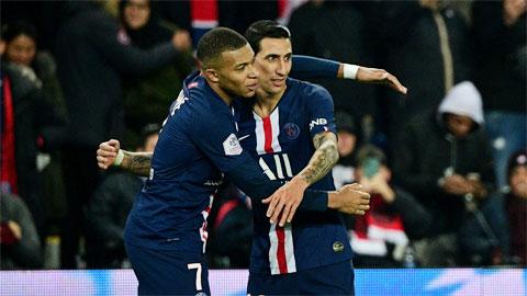 Với bộ tứ huyền ảo Di Maria - Mbappe - Icardi - Neymar, PSG quá mạnh so với phần còn lại của Ligue 1