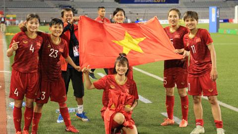 ĐT nữ Việt Nam được tài trợ  cho chiến lược World Cup