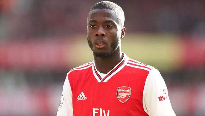 Pepe đang là nỗi thất vọng lớn của Arsenal