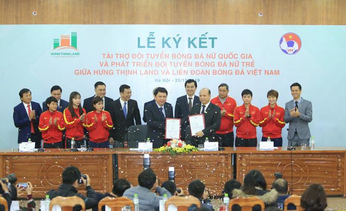 LĐBĐ Việt Nam và Hưng Thịnh Land ký kết hợp đồng tài trợ