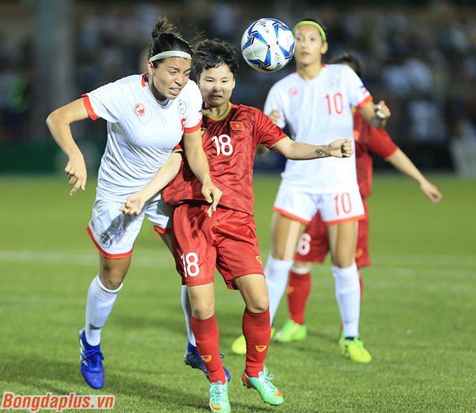 Cơ hội tranh chấp vé dự Olympic 2020 của ĐT nữ Việt Nam là thấp - Ảnh: Đức Cường