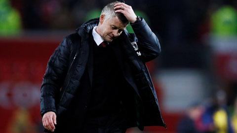 Thầy trò HLV Solskjaer gây thất vọng ê chề khi trắng tay trước đội cuối bảng Watford
