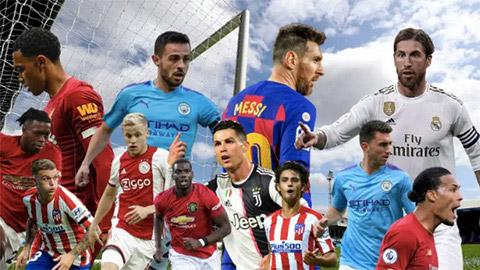 Top 10 tiền đạo xuất sắc nhất năm 2019: Ronaldo xếp hạng 2