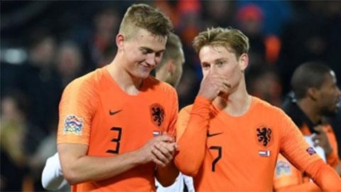 De Jong bất ngờ bật mí thời điểm De Ligt có thể tới Barca