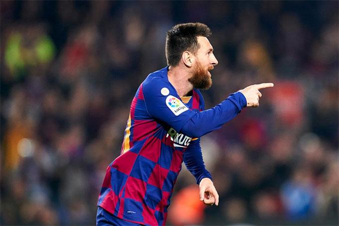 Messi vẫn đang chơi rất ấn tượng ở La Liga