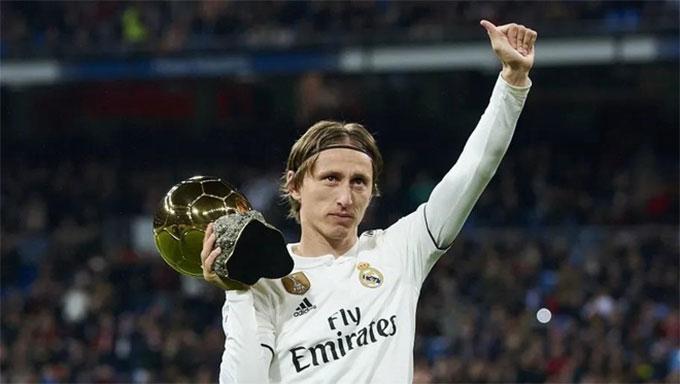Modric giành Quả bóng vàng năm 2018
