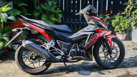 Honda Supra GTR V2 2020 mạnh hơn Winner X về VN giá 56 triệu 'đấu' Yamaha Exciter