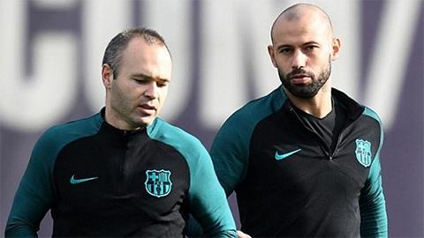 Hai cựu sao Barca sắp chung một chiến hào ở Argentina