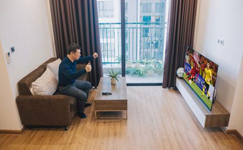 BLV Quang Huy dự định biến phòng khách tại gia thành khán đài mini để cùng bạn bè cổ vũ cho đội tuyển Việt Nam tại giải U23 Châu Á