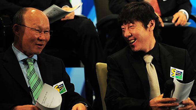Ông Shin Tae Yong không muốn thua thầy Park khi Indonesia gặp Việt Nam