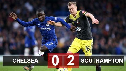 Chelsea 0 2 Southampton The Blues Tặng Qua Cho đối Thủ Bongdaplus Vn