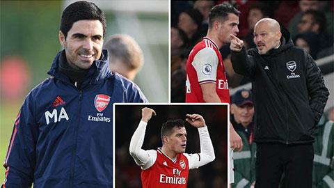 Arteta mãn nguyện được dẫn dắt 'đội trưởng điên' ở Arsenal