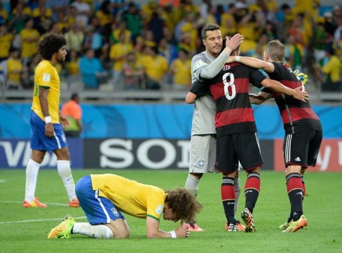 Trận thua đau đớn của ĐT Brazil trước ĐT Đức tại World Cup 2014