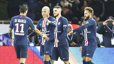 Đội hình tiêu biểu lượt đi Ligue 1: Tôn vinh dải thiên hà PSG