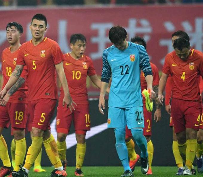 Bóng đá Trung Quốc đang nhận cái kết đắng sau sự đầu tư thiếu định hướng