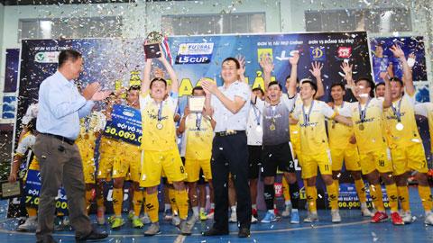 Sahako vô địch xứng đáng giải Futsal TP.HCM mở rộng