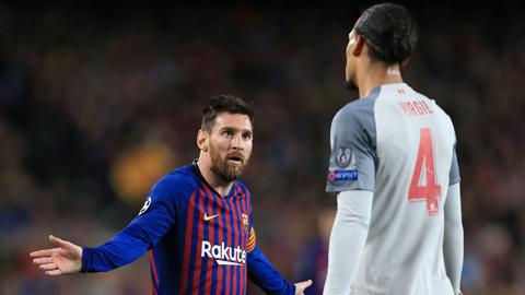 Messi thêm một lần vượt mặt Van Dijk giành giải thưởng cao quý