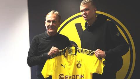 Phí lót tay đưa Haaland đến Dortmund còn kinh hoàng hơn giá chuyển nhượng