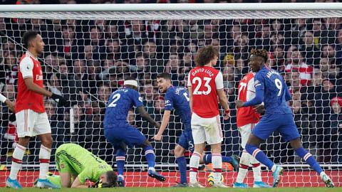 Sai lầm thứ 7 của Leno khiến Arsenal sụp đổ trước Chelsea