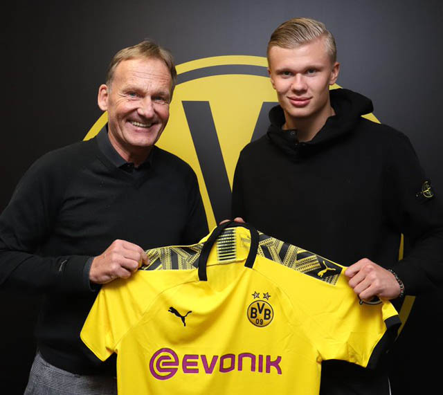 Dortmund rất vui khi có Haaland