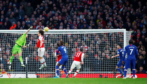 Arsenal và Oezil vẫn đầy tính giải trí!