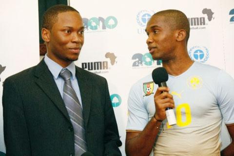 Ouandji, người bạn tri kỷ luôn nhắc Eto'o với hoài bão của dân tộc