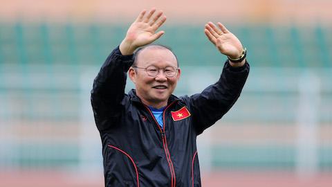 HLV Park Hang Seo nhận tin vui trước ngày sang Thái Lan