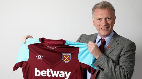 West Ham tái bổ nhiệm David Moyes thay Pellegrini