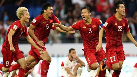 Đội tuyển Việt Nam xuất hiện trong chiến tích 10 năm của AFC