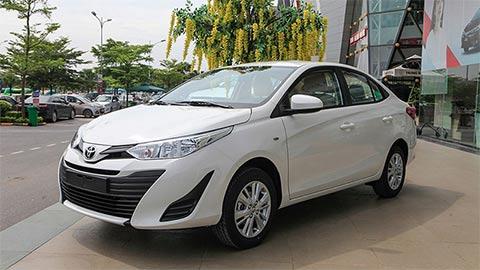 Toyota Vios 2019 giảm giá kịch sàn, chờ bản mới 'đè' Hyundai Accent, Honda City